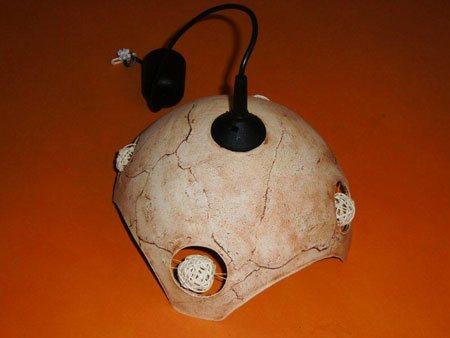 Keramik Lampe mit - NR: 114 - VERKAUFT