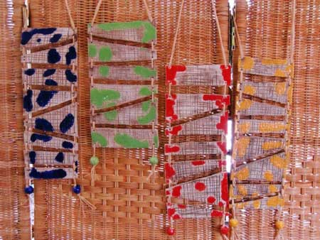 Keramik Wandschmuck zur Dekoration - NR: 115