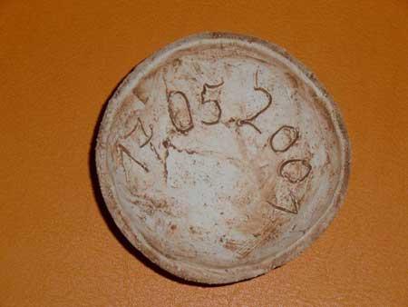 Keramikschalen als personalisiertes Geschenk zur Hochzeit für Gäste oder Firmenfeier / Geburtstagsfeier - NR: 120