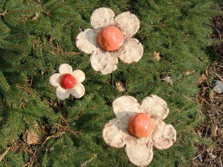 garten dekoration blumen oder rosenkugel - NR: 128 - VERKAUFT