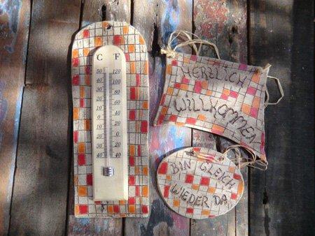 Geschenk zu ostern oder kunstvolle Gartendeko- NR: 168 - VERKAUFT