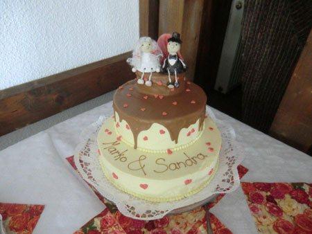 Hochzeitspaar klein - NR: 186 - VERKAUFT
