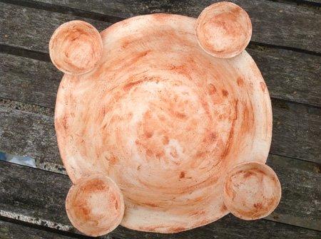 keramik kerzenhalter - ein unikat