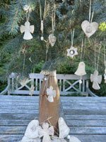 Keramik Baumschmuck als Weihnachtsdekoration - NR: 157