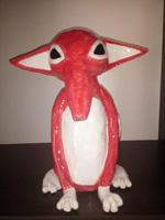 handgemachter frei entworfener Keramik Fuchs