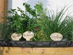 Ideen nach Wunsch hergestellt - Kräuterschilder für den Garten aus Keramik