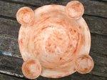 keramik kerzenhalter zum advent - weihnachtsschmuck