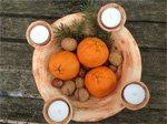 keramik kerzenhalter zum advent - weihnachtsschmuck online kaufen