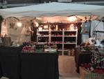 Verkaufsstand auf der Saale Messe - grösste Verbrauchermesse in Halle, Sachsen-Anhalt  - Ansicht