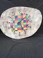 handgemachte keramik modern art uhr