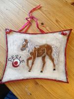 Namensschild Pferd - Schild für die Stallt&uumlr - NR: 229